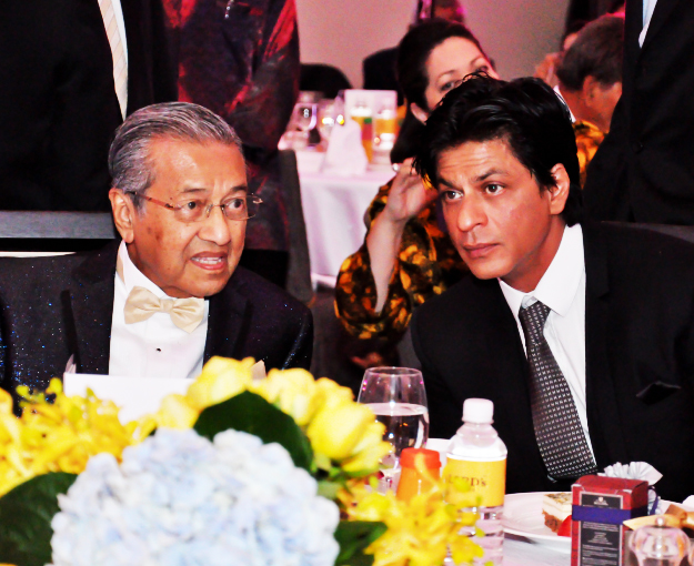 Indian superstar Shahrukh Khan special guest at Dr M's 87th birthday party