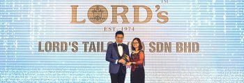 LORD's wins SOBA 2019 Best Branding Award (Platinum)
