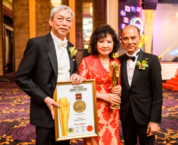 Lord's Tailor wins prestigious BrandLaureate Special Edition World Award