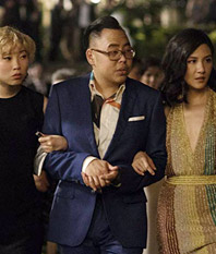 Nico Santos in Crazy Rich Asians