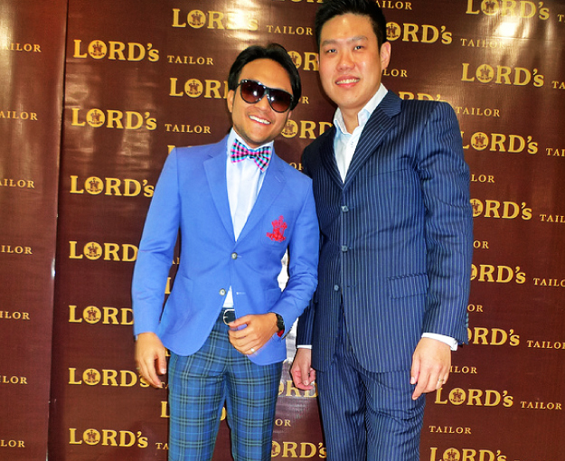 Kee Hua Chee Blog: Lord's Tailor sponsors Malaysia's Top Ten Malay Stars
