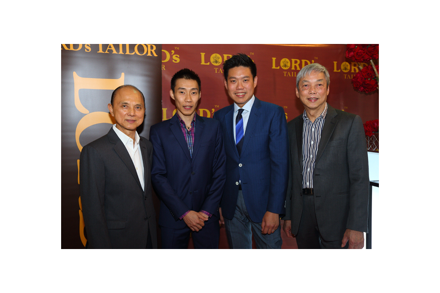 Malaysia Tatler: Lord's Tailor opens its first flagship store