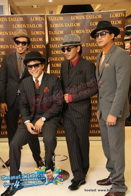 Budiey.com : Gaya Moden Klasik Lords Tailor Anugerah Bintang Popular 2010