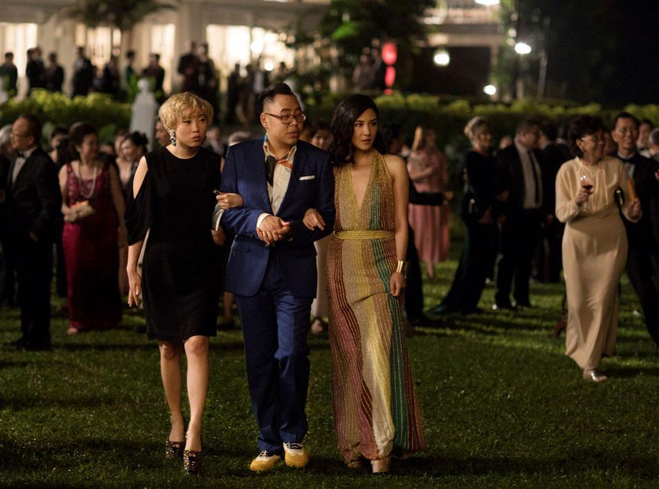 Crazy Rich Asians - Nic Santos in a suit by LORD's Tailor