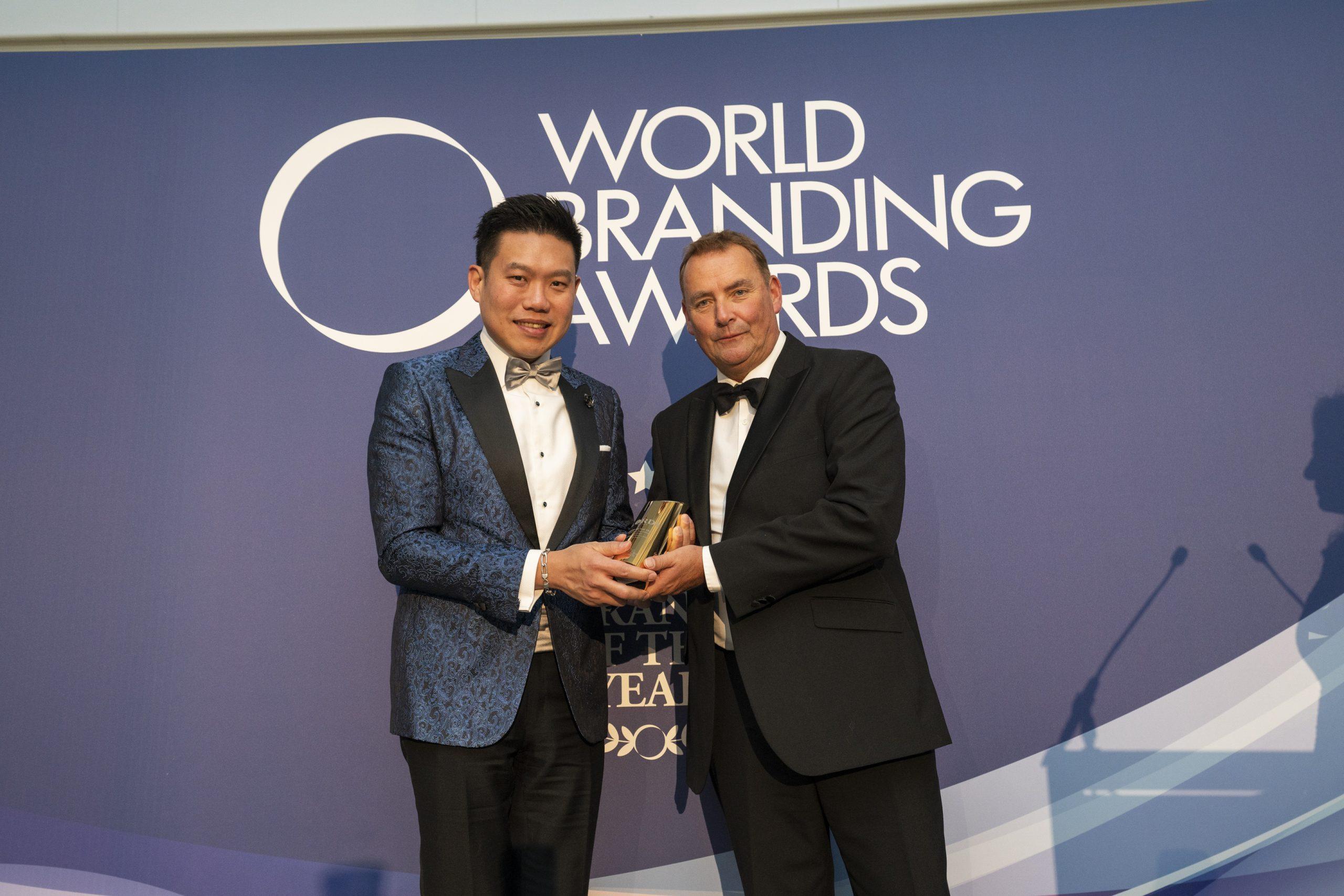 LORD's Tailor wins World Branding Awards