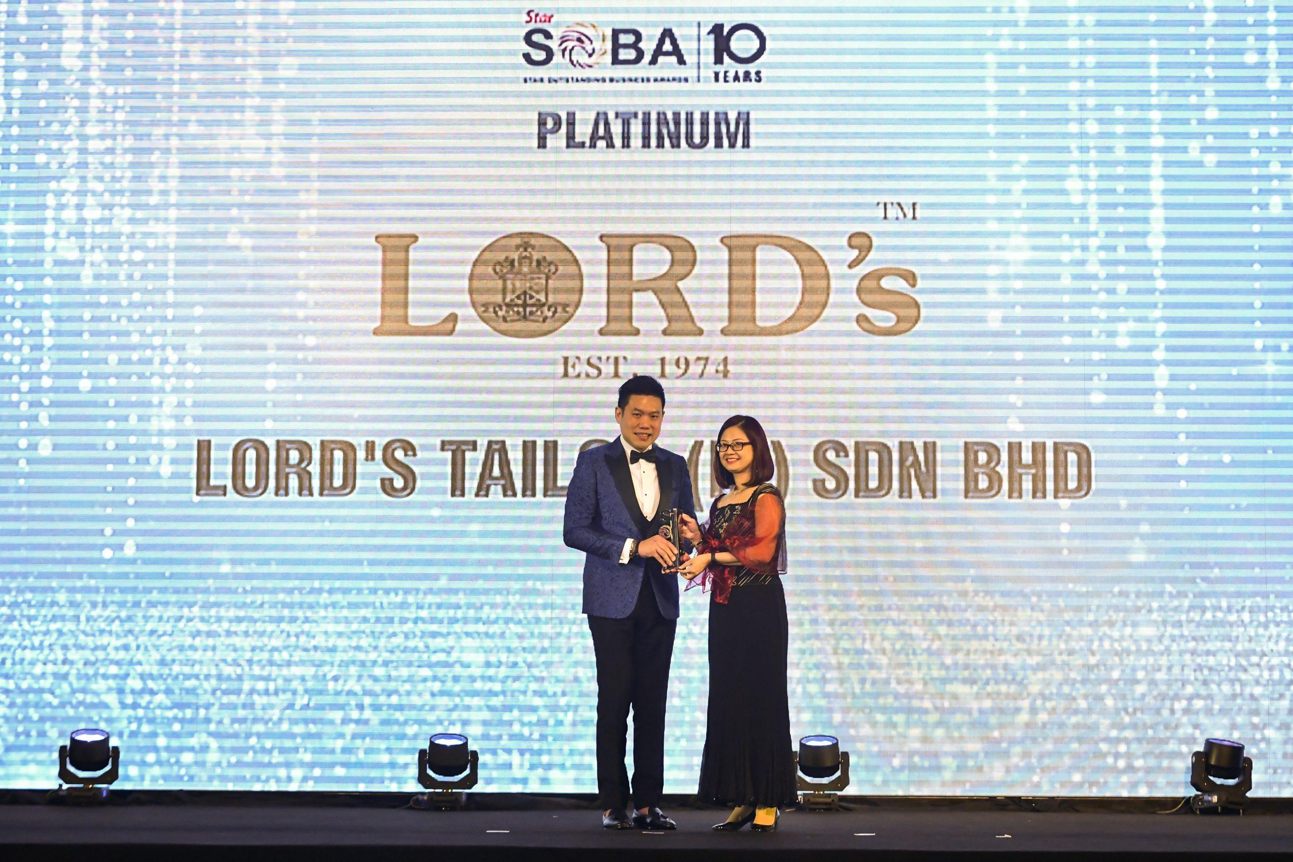 SOBA 2019 – BEST BRAND (PLATINUM) AWARD